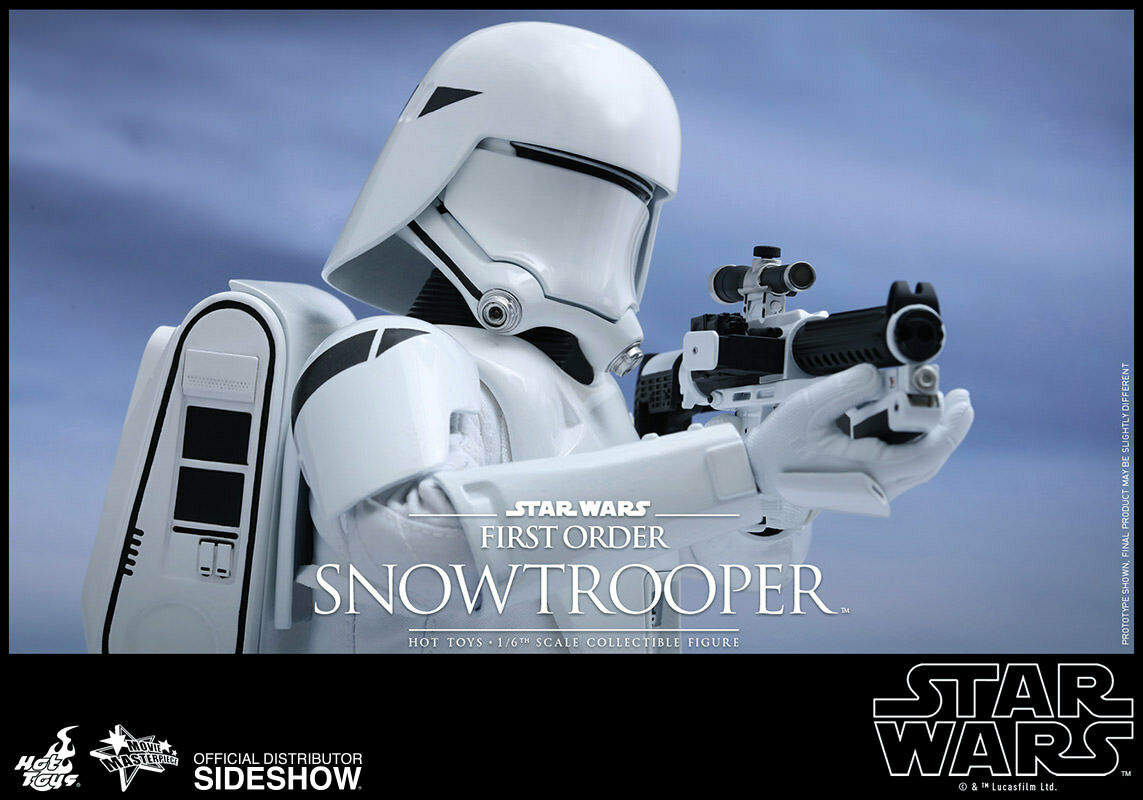 1/6 1/6 1/6 Star Wars First Order Snowtrooper Movie Masterpiece by Hot Toys 902551 206cee