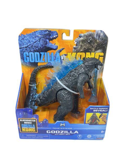Godzilla vs Kong Monsterverse GODZILLA Figure with Heat Ray Playmates Toys
