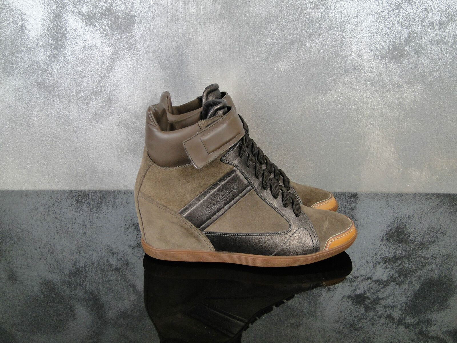 SANTONI zapatos mujer SCARPONCINO   WOMAN zapatos TG 40 1\2