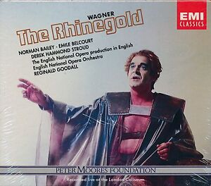Wagner-The-Rhinegod-CD-NEW-Norman-Bailey-Emile-Belcort-Reginal-Goodall