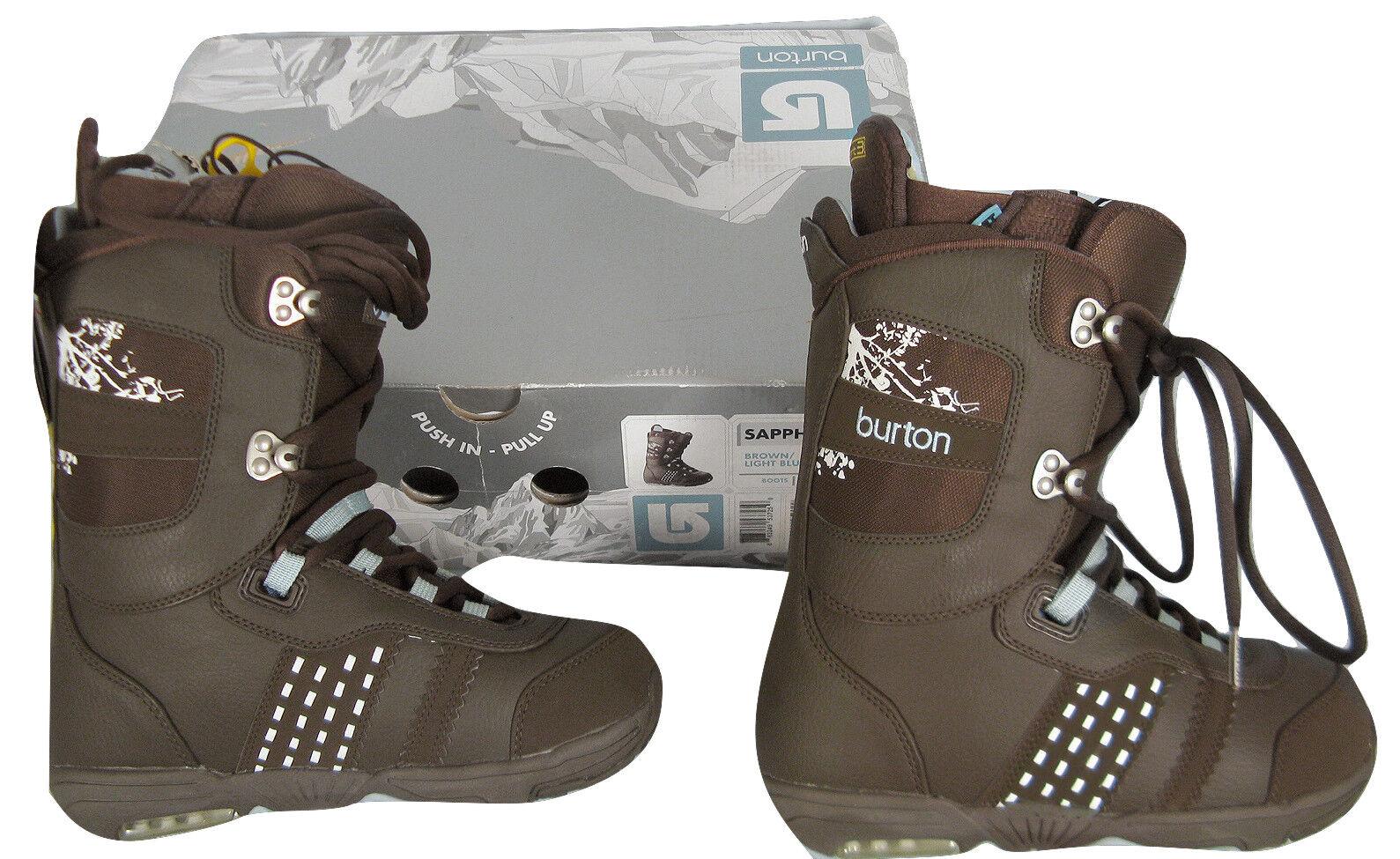 NEW Burton Sapphire Snowboard Stiefel   US 4 UK 2.5 Euro 34 Mondo 21  braun