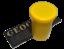 Set-Geocaching-5-Filmdosen-farbig-5-Aufkleber-5-Logbuecher-Cache-Micro-Versteck Indexbild 4
