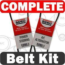 Bando Drive Belt Set (2 pcs)( fits: Nissan Sentra 1995-1999 1.6L)Alternator-A/C