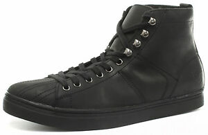 Black Cut New Style Max Upper Mid Up Shoe Women's Leather Grinders Trainer Lace qrA0CRAEw