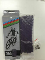Bycicle Chain 1/2 X 1/8 Purple Color Master Link Include