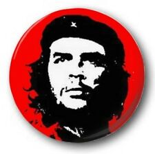 "Che Geuvara - 25mm 1"" Button Badge - Revolution Cuba Marxist Student red"