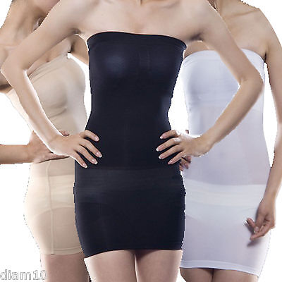 STRAPLESS SLIMMING CONTROL BODY SHAPER TUBE DRESS SMOOTHING UNDERWEAR BODYSHAPER