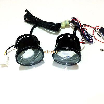 6000K 14W LED Dayrunning Lights DRL + 24W Fog Lamp Assembly for Infiniti Nissan
