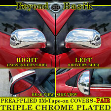2009-2013 TOYOTA COROLLA /MATRIX (FULL) Chrome Mirror Covers Trim Overlay 2pc