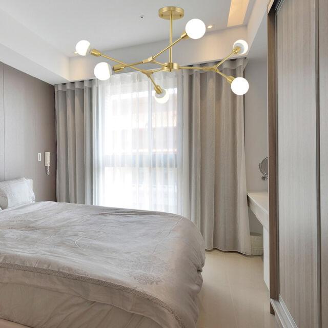 Kitchen Pendant Light Bar Lamp Gold Chandelier Lighting Bedroom Ceiling Lights