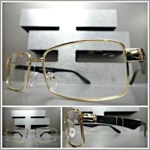 cda06ed99fb Image is loading Mens-SOPHISTICATED-CLASSY-MODERN-Style-Clear-Lens-EYE-