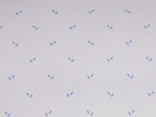 Exquisite Tapete mit zarten Muster blau TA3049 30x53cm