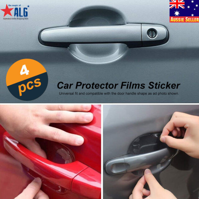 4pcs Car Door Handle Invisible Anti Scratch Protector Film Cover Guard Sticker