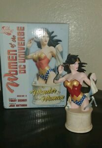 NIB-Wonder-Woman-Bust-5036-6200-Women-of-the-DC-Universe-Series-2-Terry-Dodson