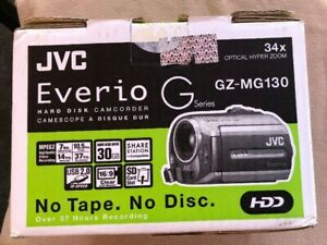 JVC-Everio-GZ-MG130-30GB-Hard-Disk-With-2-Xtra-Batteries-And-Charger-FREE-SHIP