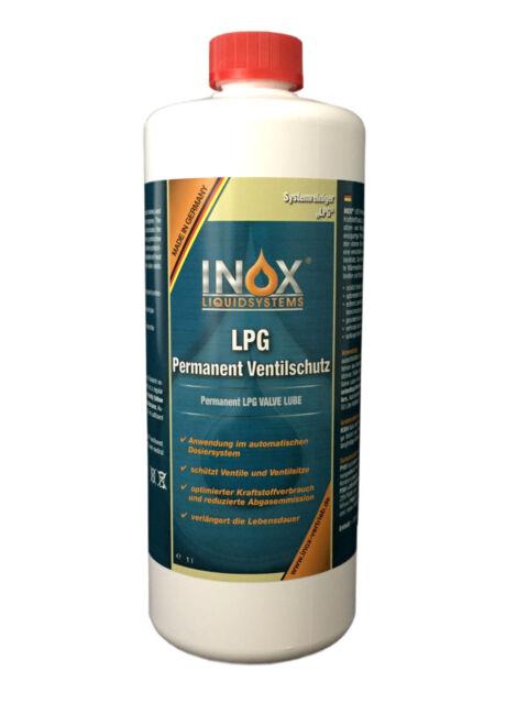 INOX Permanent Ventilschutz Gas Valve Saver Autogas Additiv LVS 1x 1 Liter