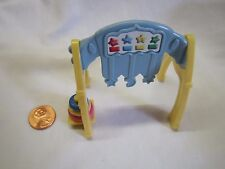 FISHER PRICE Loving Family Dollhouse Blue & Yellow Play Gym Baby Nursery Toy
