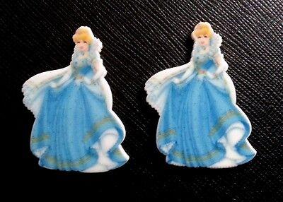 2 x Disney Princess Snow White Planar Flatback Resin Flat Back Hair Resins