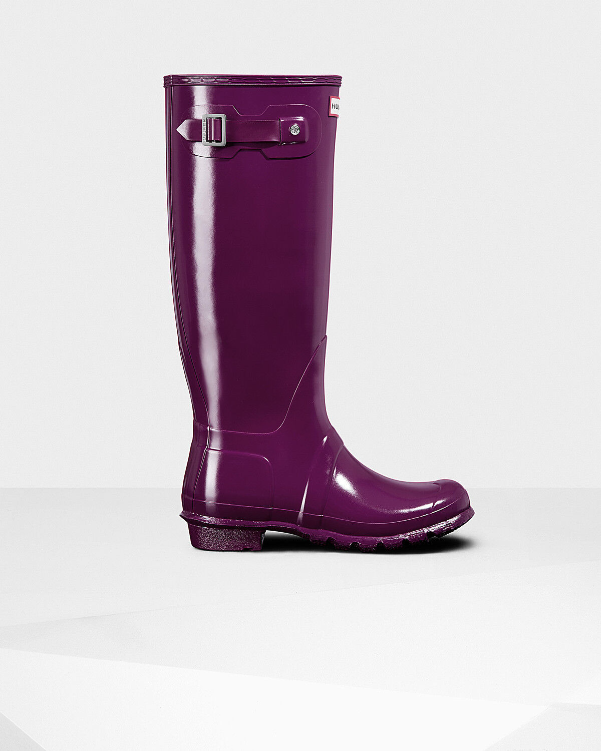 Recortes de de precios estacionales, beneficios de Recortes descuento Hunter Original Tall Gloss Violeta Wellies UK Size 3-8 3cfc0a
