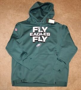 Image is loading Nike-NWT-Philadelphia-Fly-Eagles-Fly-Sideline-Performance- d909e25cb