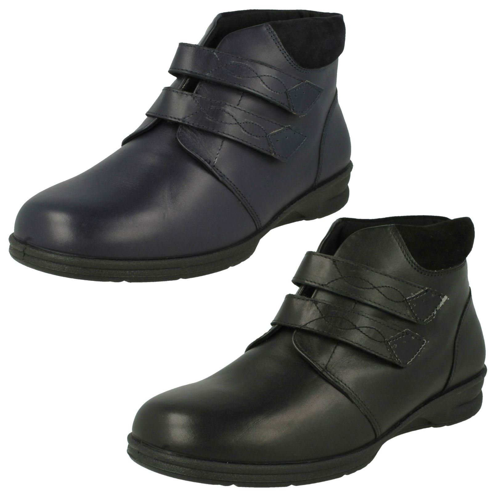 Ladies Padders Wide Fitting Ankle Boots 'Kathy'