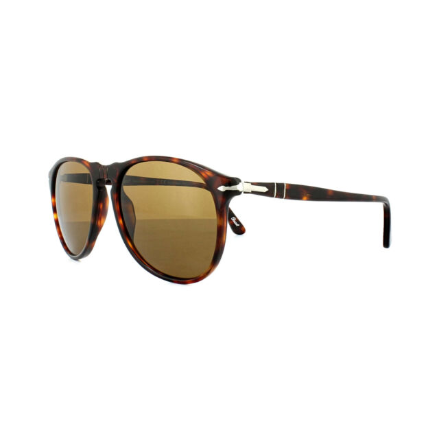 acf08e69f9f7 Persol Sunglasses 9649 24/57 Havana Crystal Brown Polarized