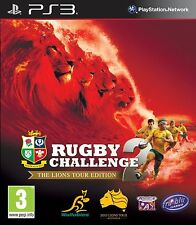 rugby challenge 2 the lions tour edition ps3
