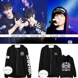 Kpop-Shinhwa-Cap-Hoodie-Sweater-Eric-Long-Sleeve-Unisex-JunJin-Andy