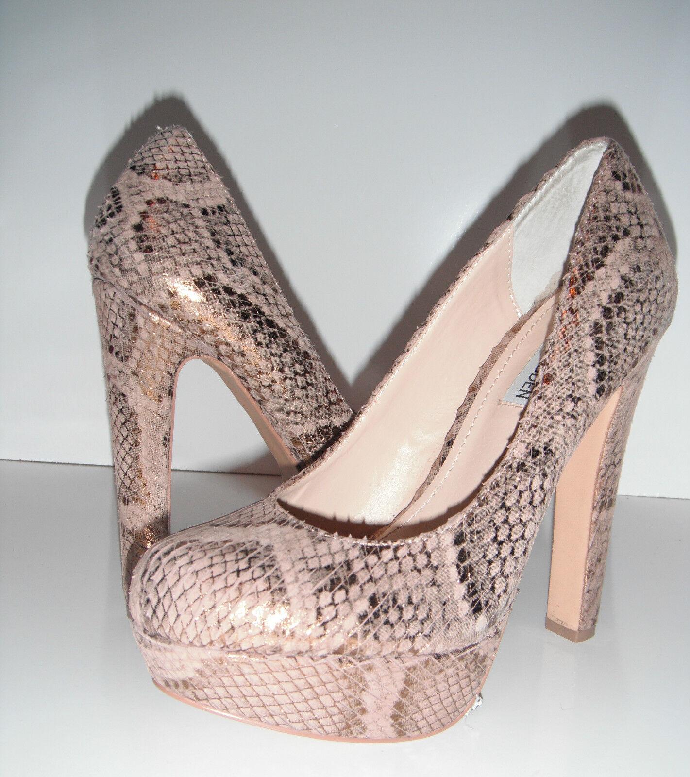 acquisto limitato New Glamorous Steve Madden  Beasst-S Beasst-S Beasst-S Snake Print Heel Platform scarpe sz 7M  125  ordina ora goditi un grande sconto