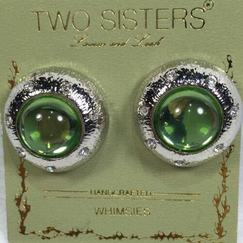 Two Sisters Clip Earrings, O53**
