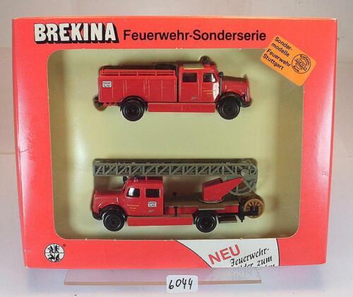 Brekina 1//87 Feuerwehr Sonderserie Feuerwehr Stuttgart OVP #6044
