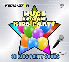 VOCAL-STAR KIDS PARTY HUGE KARAOKE HITS CDG CD+G DISC SET - 40 SONGS