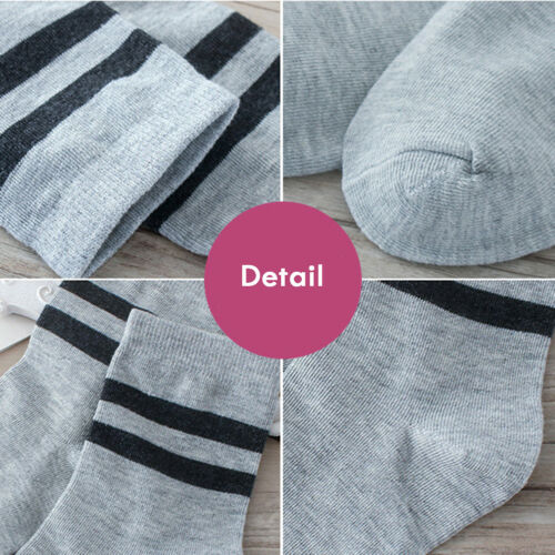 1Pairs Fashion Men/'s Dress Socks Striped Casual Soft Cotton Sport Short Sock Hot