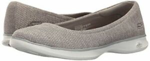 Skechers-Performance-Ladies-039-Go-Step-Lite-Flats-GREY-PICK-Size-NEW