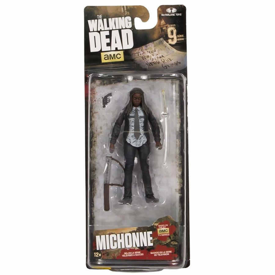 MCFARLANE TOYS WALKING DEAD SERIES 9 Constable Michonne