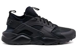 Air Huarache Scarpa Nera Nike Total Run Sneaker Black Da Ultra ZwCnqdq7
