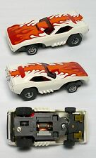Aurora AFX G+ G-PLUS ish Screecher Magna Steering Super 'Cuda Barracuda Slot Car