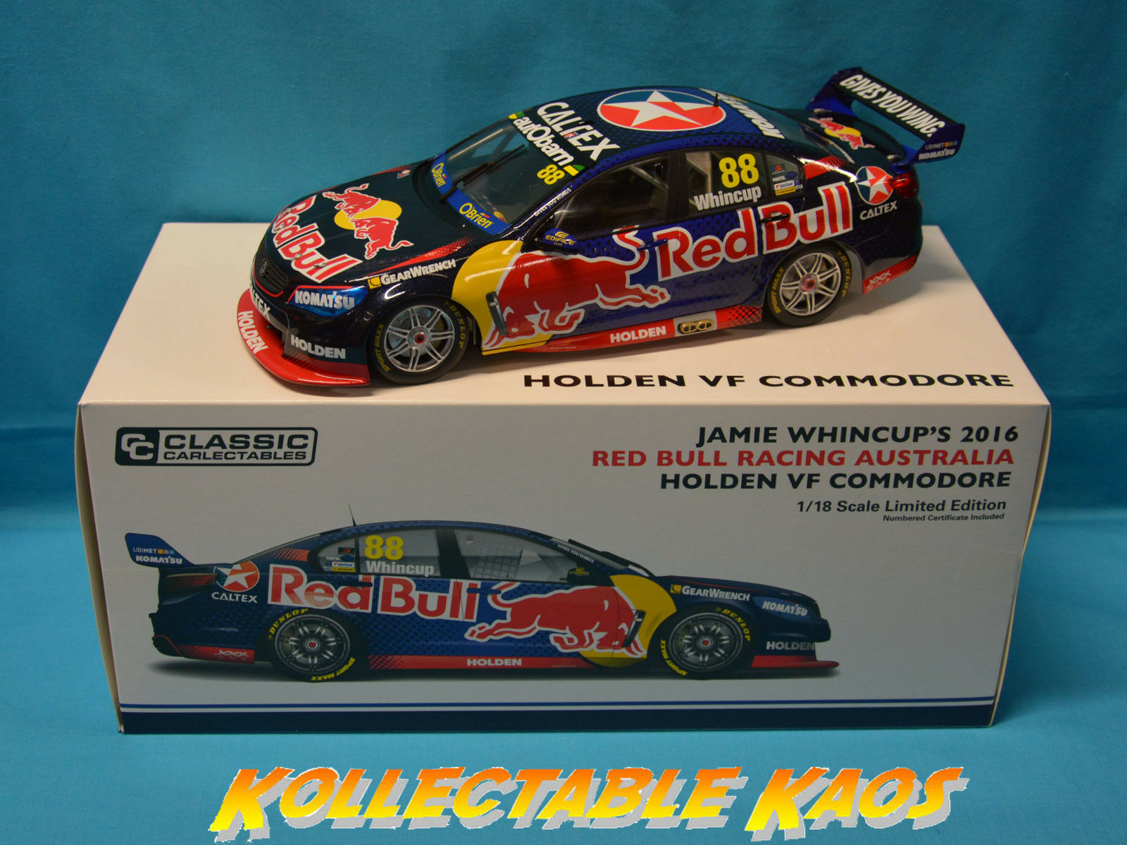 1 18 Classics - 2016 Championship Series - rouge Bull Racing - Whincup