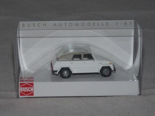 Busch 52700 VW 181 Kurierwagen OVP weiß 1:87 NEU
