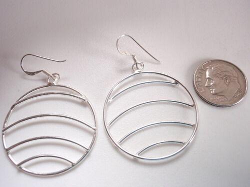 Small Cross Dangle Earrings 925 Sterling Silver Corona Sun Jewelry
