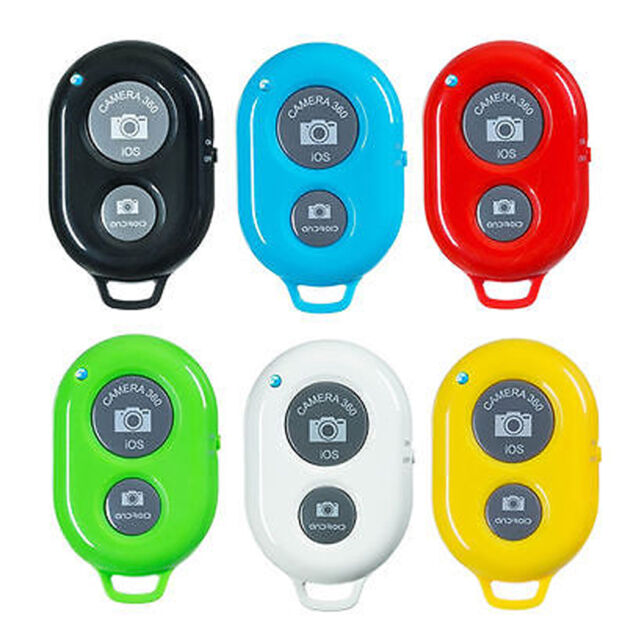 For iphone Android Phones Bluetooth Remote Control Camera Selfie Shutter Stick