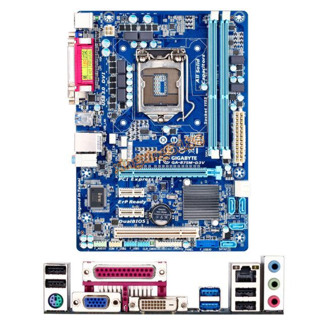 Gigabyte GA-B75M-D3V Placa Mae For Intel Socket LGA 1155 Micro ATX Motherboard