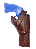 Barsony Burgundy Leather Western Style Gun Holster For Colt 4 Revolvers