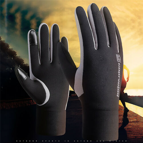 Men's Women' Winter Ski Warm Gloves Motorcycle Waterproof Touch Screen Gloves