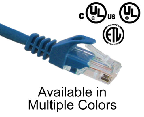 CAT6 Snagless Network Ethernet Cable Lan Internet Patch Cords Networking 1/'-25/'