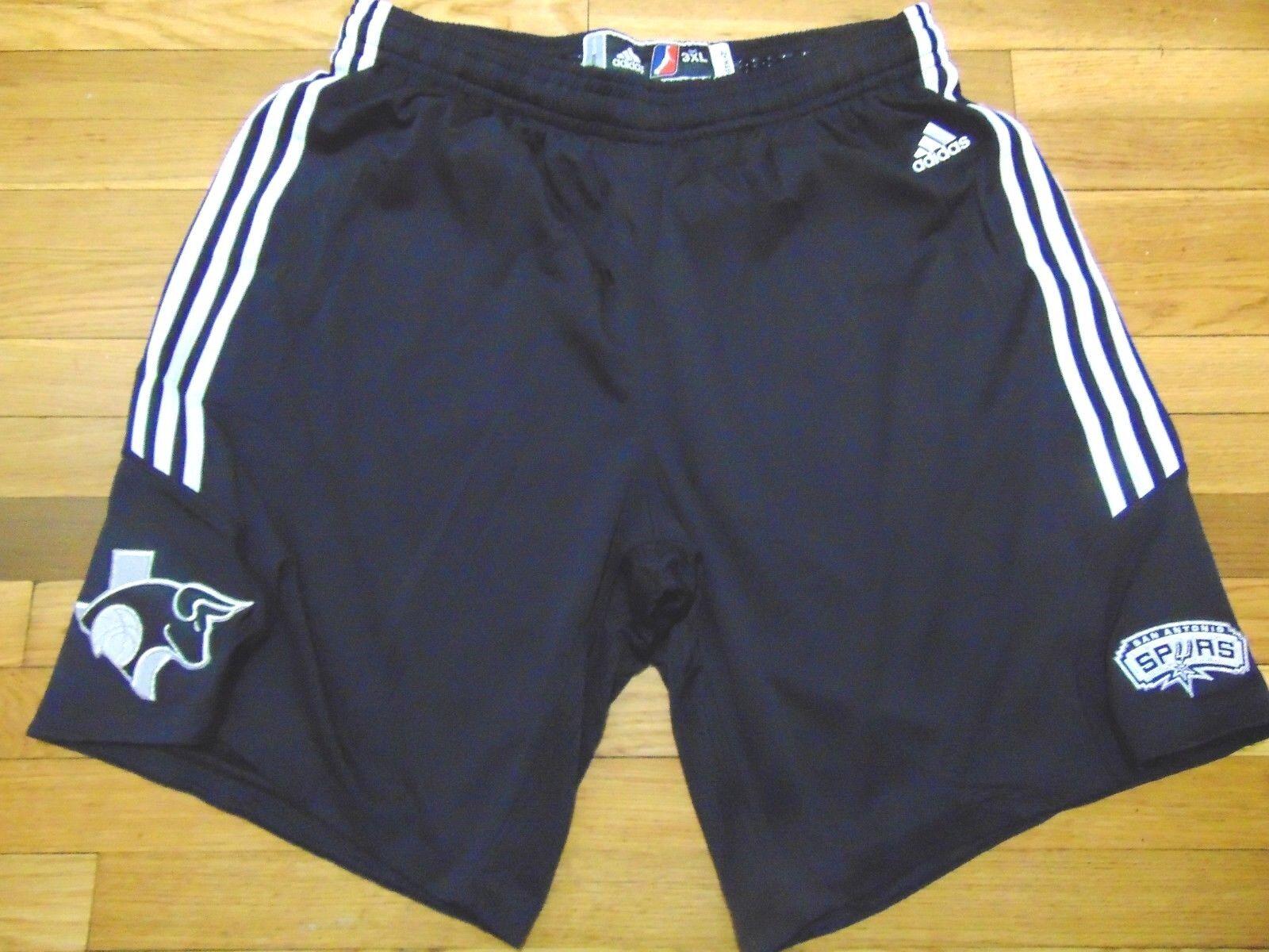 adidas nba d league authentique austin austin austin spurs jeu shorts taille 3xl 2 san antonio d673b9