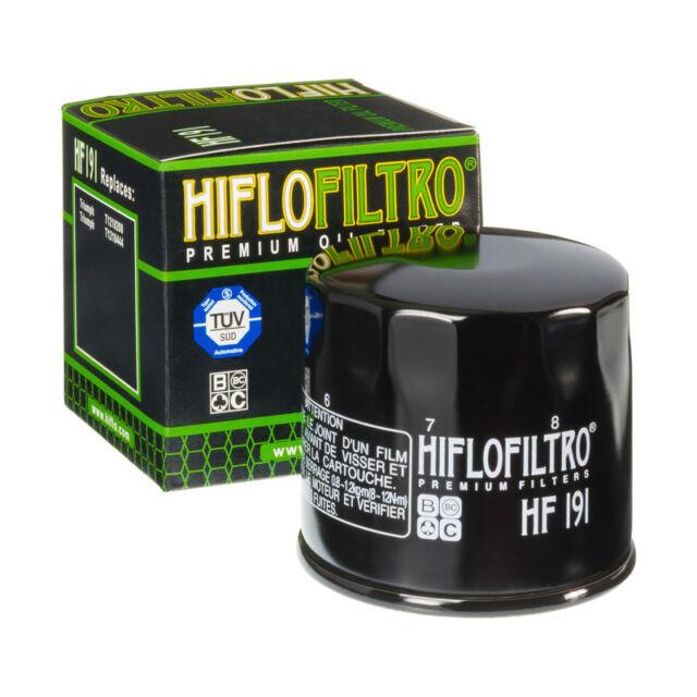 Hiflo HF191 Motorcycle Motorbike Replacement Premium Engine Oil Filter