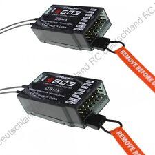 2x Empfänger S603 DSMX und DSM2 Spektrum Kompatibel Receiver 6 Kanäle 2.4GHz