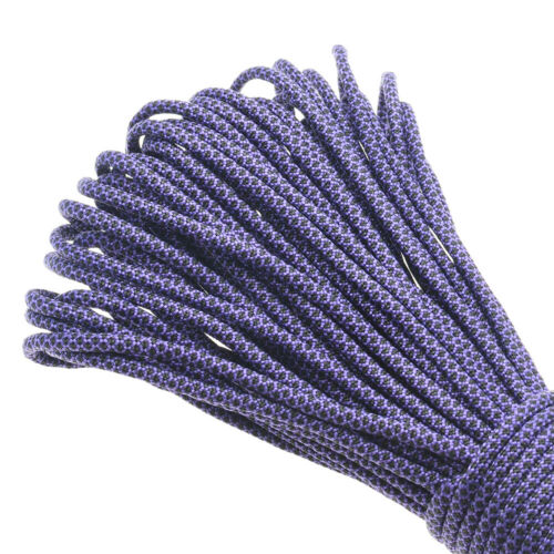 PARACORD 550 TYPE 3-7 STRAND PARACHUTE CORD PURPLE PASSION CAMOUFLAGE 100FT