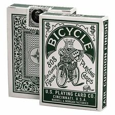 Bicycle Autobike Green Playing cards Deck